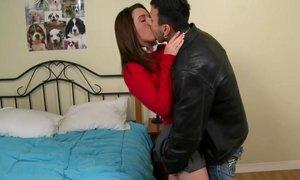 Schoolgirl Jaslene takes fat cock in her teen mouth Beeg