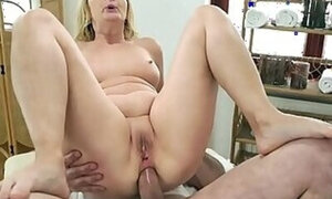 Ass fuck scene with a really kinky mature lady