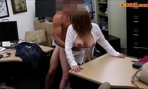 Foxy big boobs business lady pussy pounded in the pawnshop xVideos