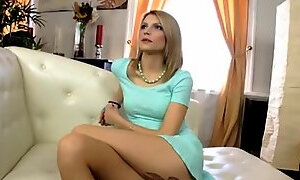Ambrosial lady gets anal