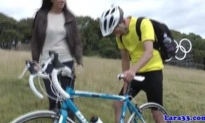 British mature picks up cyclist for fuck xVideos
