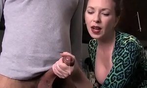 AUNTIE MAKES NEPHEW CUM - more video on xxxmilf.pro xVideos