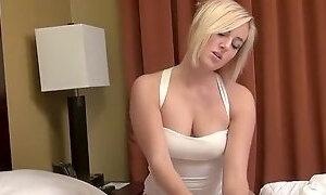 Kate England Takes Advantage of Her Sleeping Father