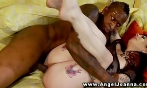Angel Joanna loves big black cock in her mouth xVideos