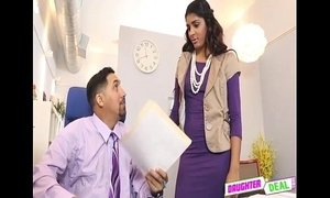 Bring Your Daughter To Work Day - Gigi Flamez And Katalina Mills xVideos