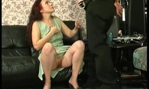 Shy Nerd Loses His Virginity With Sexy Leggy Stepmom AnalDin
