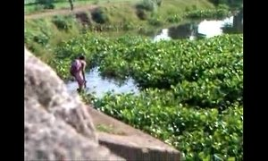 odisha village lady bathing outside.non nude xVideos