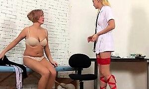 Orgasm during gyno examination