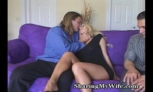 Sissy Hubby Shares Hot Wife xVideos