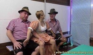 amateur lederhosen gangbang orgy xVideos