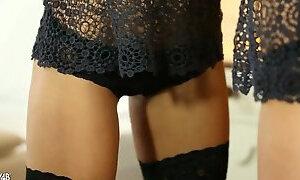 Sensual Solo In Bedroom - Rikku