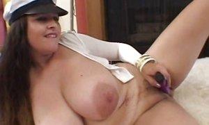 Supersize big natural tits AnalDin