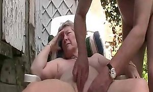 Granny outdoor fun