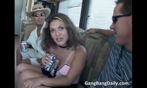 Horny sexy floozy is being brutally xVideos