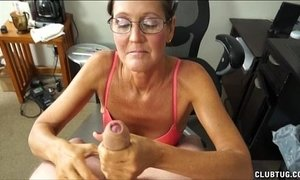 A Naughty Mature Lady Sucks And Jerks xVideos