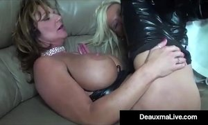 Role Play by Sexy Cat Woman Milf Deauxma Ends In 3 Way Fuck! xVideos