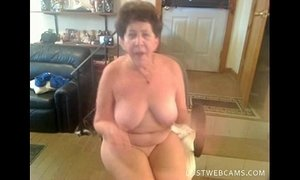 Granny dildoing her pussy and ass on cam xVideos
