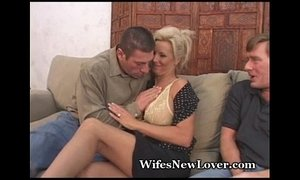 New Lover For Wife With Pussy Hubby xVideos