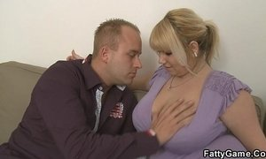 He gets picked up by hot blonde plumper xVideos