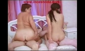 Chubby Mom And Dad Join Son-Daughter In Bed xVideos