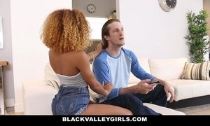 BlackValleyGirls - Identical EbonyTeens Fucked By Big Cock AnalDin