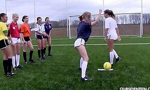 Game, Sport, Soccer, Lesbian Teen Soccer, Naked Outdoors Stripped