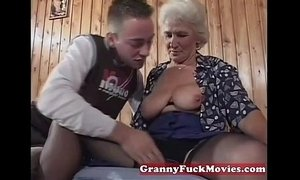 Grandma eager for younger dicks xVideos