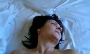 Horny aged brunette hair wife make fantastic fucking session sunday night,damn