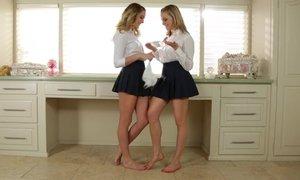 Lesbian step-sisters Beeg