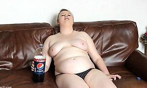 Chubby coke chugging