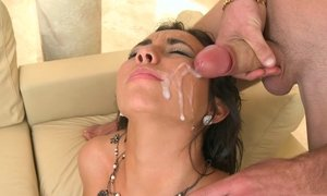 Facial cumshot after a good fuck Beeg