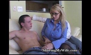 Busty Blonde Mommy Shared With Buddy xVideos