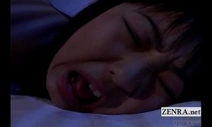Subtitled uncensored nocturnal Japan schoolgirl rimjob xVideos
