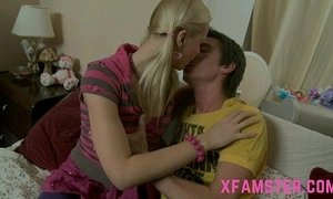 Tight lolita amateur daughter gets assfucked deep by stepbro in her tiny asshole xVideos