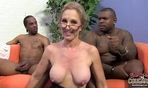 Two black guys are in love with their granny teacher xVideos