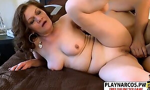 Natural tits Not Mom Dacia Logan Riding Cock Hot Touching Step son