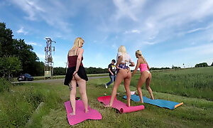 The Great Outdoors Challenge with Daisy, Vicky and Berna