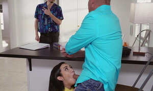 Kiley Jay craves her tutor's cock
