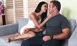My dad's hot girlfriend Jasmine Caro Beeg