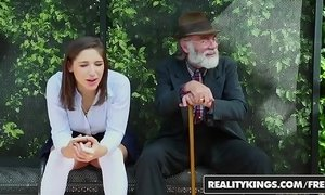 RealityKings - Teens Love Huge Cocks - (Abella Danger) - Bus Bench Creepin xVideos