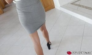 Step bros big cock ridden by Kat Arina on top xVideos