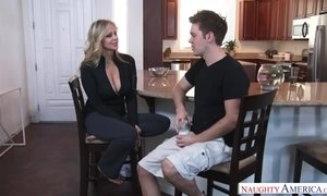 Amazing Step Mom Julia Ann having fun AnalDin