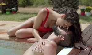 Erotic sex by the swimming pool Beeg