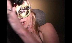 Big clit masked MILF has 2 cums Sucked standing Flat on back Longest upload