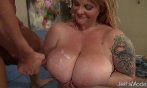 Big titted BBW Kali Kala Lina rides a fat cock xVideos