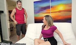 Son Caught his Slutty Stepmom Cheating on Dad!