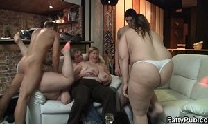 Chubby party girl gives head and boned from behind xVideos